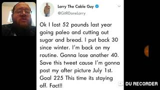 Larry The Cable Guy Looking To Loss Weight - DTMP Drama Alert
