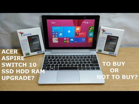 Acer Aspire Switch 10 - Disassembly - SSD HDD RAM Upgrade? Buy Or Not Buy? - UCCN6jhE-nqsfmp1GYazd2wA