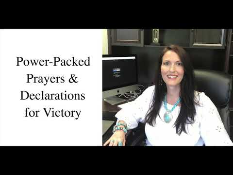 Power-Packed Prayers & Declarations For Victory