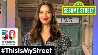 Sesame Street Memory: Olivia Munn   #ThisIsMyStreet