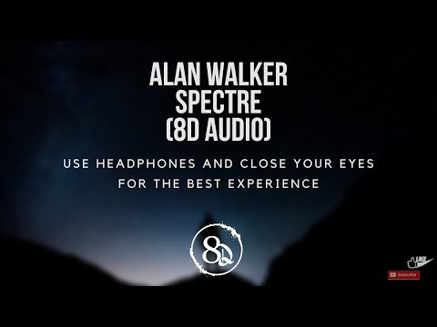 Alan Walker - Spectre [NCS Release] (8D AUDIO) - UCssJaSlB7MX1V5bg3FtKvIQ