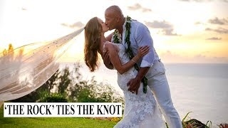 Dwayne 'The Rock' Johnson marries long-term girlfriend Lauren Hashian in Hawaii
