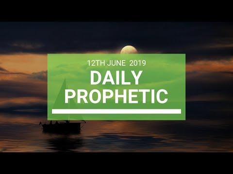 Daily Prophetic 12 June 2019   Word 4