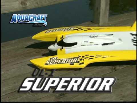 Spotlight: AquaCraft UL-1 Superior Comp FE Hydroplane RTR - UCFEkmWTBv94diK9lTAIjGww