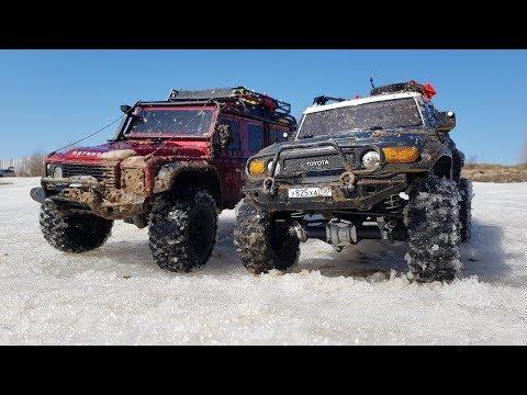 Сравнительный тест-драйв Defender и FJ Cruiser (Traxxas trx-4 и hpi venture) - UCX2-frpuBe3e99K7lDQxT7Q
