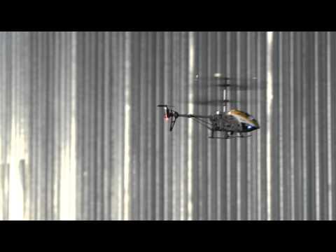 Vnitrní tríkanálový 19 cm vrtulník - cervený