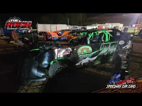#76 Jeremy Creech - Mini Stock - 10-16-21 Rockcastle Speedway - InCar Camera - dirt track racing video image