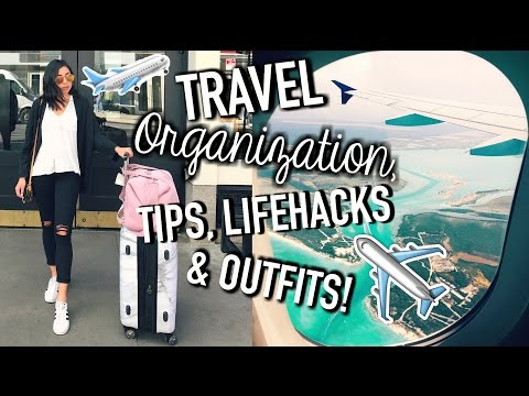 Travel Life Hacks, Organization Tips, Outfits, How To Pack, & Carry On Essentials! - UCrcYxVSkBgg9szDSwwZaNwg