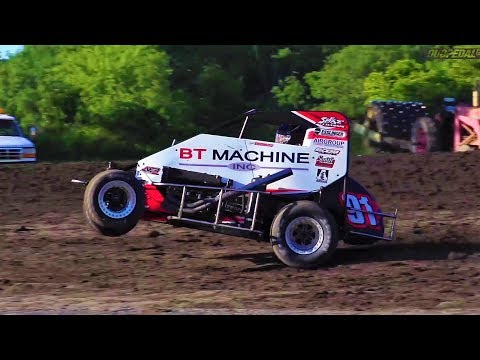 USAC Weekly Warmup: June 27, 2017 (Put & Illinois Midget Wknd Edition) - dirt track racing video image
