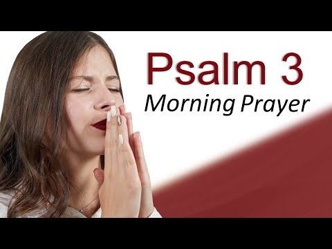 THE LORD IS YOUR DEFENDER - PSALM 3 - MORNING PRAYER