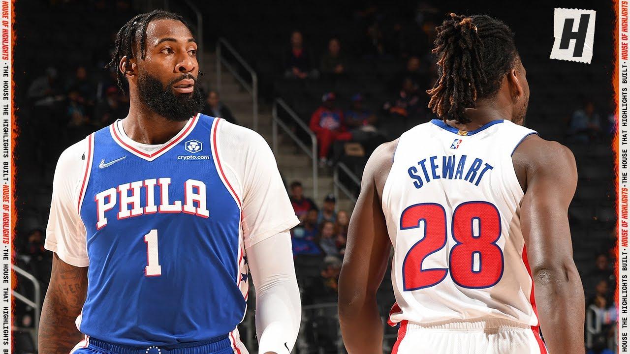 Philadelphia 76ers vs Detroit Pistons – Full Game Highlights   October 15, 2021   2021 NBA Preseason