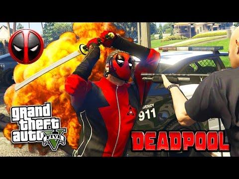 GTA 5 PC Mods - DEADPOOL MOD w/ SWORD & PARKOUR! GTA 5 Deadpool Mod Gameplay! (GTA 5 Mods Gameplay) - UC2wKfjlioOCLP4xQMOWNcgg