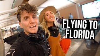 Flying to Florida (visiting NASA at the Kennedy Space Center)