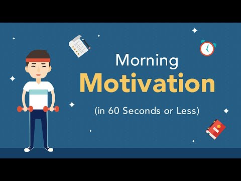 Morning Motivation: Get Motivated in 60 Seconds  Brian Tracy