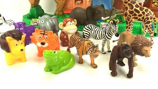 ZOO Animals With Spark Create Toys And Schleich Toys/Fun Magic For Children/Little People Playset