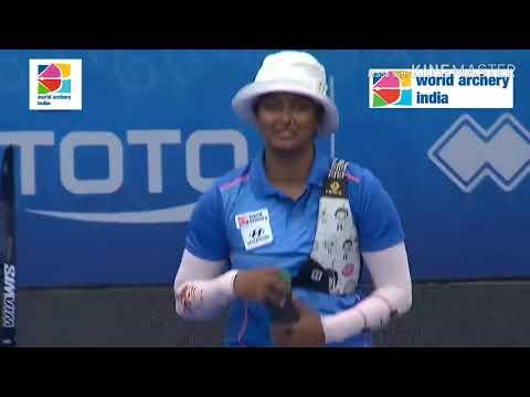 Deepika Kumari v Lisa Unruh - World Cup Final 2018 - Samsun, Turkey