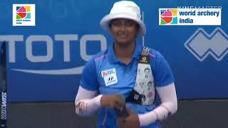 Deepika Kumari v Lisa Unruh - World Cup Final 2018 - Samsun, Turkey