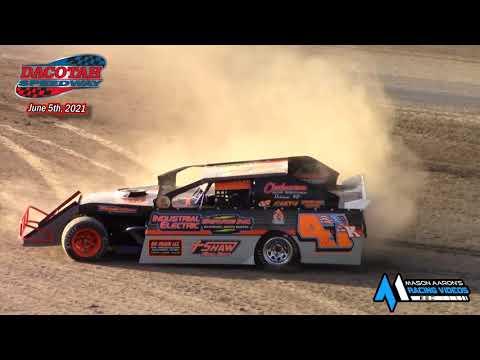 Dacotah Speedway IMCA Sport Mod A-Main (6/5/21) - dirt track racing video image