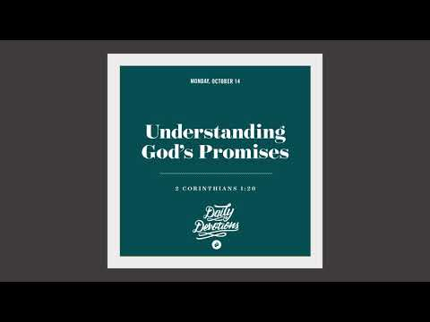 Understanding Gods Promises - Daily Devotion