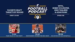 Favorite Draft Targets by Round w/ Adam Rank (Ep. 382)