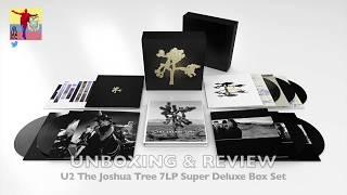 The Joshua Tree Deluxe 7LP UNBOXING