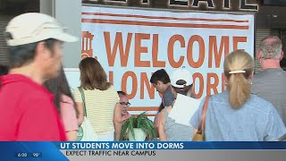 It's Mooov-In Day, y'all! University of Texas welcomes new and returning students