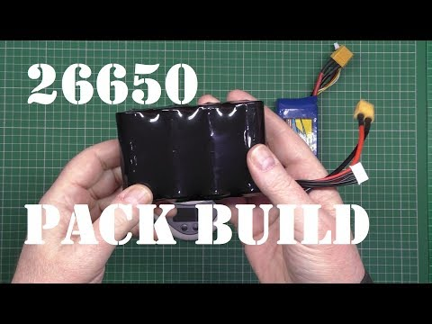 26650 Li-Ion battery pack build instructions and capacity test - UC4fCt10IfhG6rWCNkPMsJuw