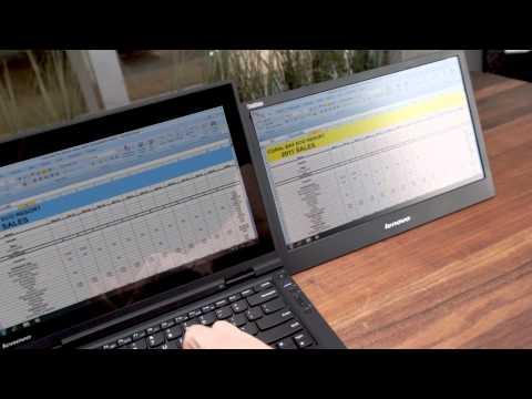 "Lenovo ThinkVision 14"" Wide Mobile Monitor (LT1421) - UCpvg0uZH-oxmCagOWJo9p9g"