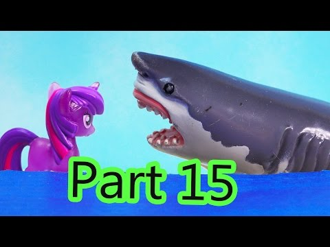 MLP Airplane Airport - Shark Waters - My Little Pony Travel Part 15 Twilight Pinkie Pie Series Video - UCelMeixAOTs2OQAAi9wU8-g