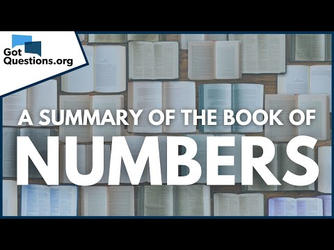 A Summary of the Book of Numbers  GotQuestions.org