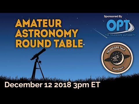 Amateur Astronomy Round Table - UCQkLvACGWo8IlY1-WKfPp6g
