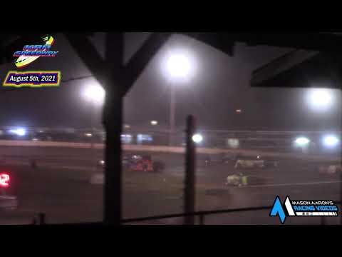 KRA Speedway WISSOTA Super Stock A-Main (8/5/21) - dirt track racing video image