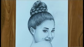 Ariana Grande Drawing ( First-time for me )