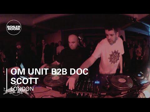 Om Unit b2b Doc Scott Boiler Room London - Red Bull Music Academy Takeover - brtvofficial