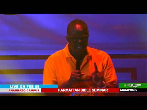 WATCH THE HARMATTAN BIBLE SEMINAR, LIVE FROM THE ANAGKAZO CAMPUS - GHANA. DAY 4 SESSION 3.