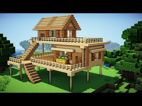 Minecraft: Starter House Tutorial - How to Build a House in Minecraft / Easy / - UCYRRlPC-kH0IHy5ATmHkgeg