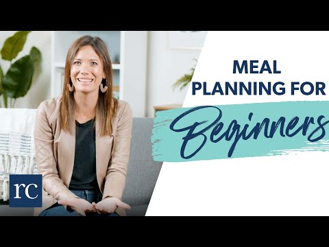 Meal Planning for Beginners (in 10 Easy Steps)