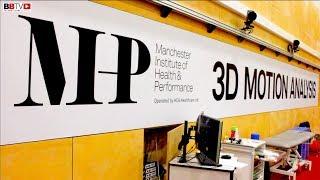 3D MOTION ANALYSIS, ZELFA BARRETT USES CUTTING EDGE MIHP TECHNOLOGY