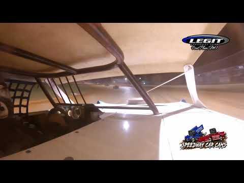 #55 Bobby Skinner - POWRi Super Stock - 6.26.21 Legit Speedway Park - In Car Camera - dirt track racing video image