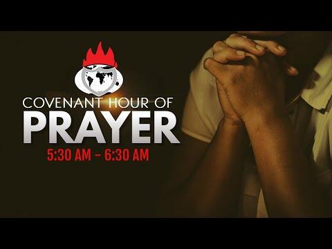 DOMI STREAM: COVENANT HOUR OF PRAYER  27, OCTOBER  2020