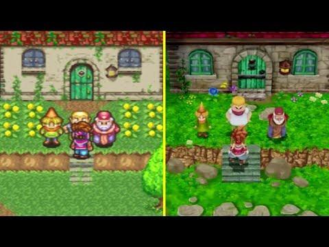 Secret of Mana PS4 Remake vs Original Graphics Comparison - UCD3rfp47a3xZuqHhllcIvIA
