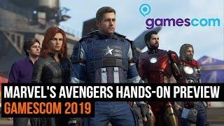 Marvel's Avengers hands-on preview - Gamescom 2019