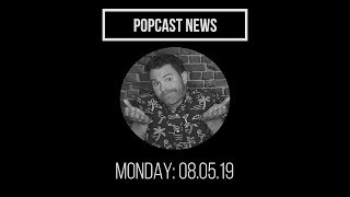 Popcast News: Monday 8.5.19 | Mass Shootings, Moscow Mitch, & Hoverboard Magic