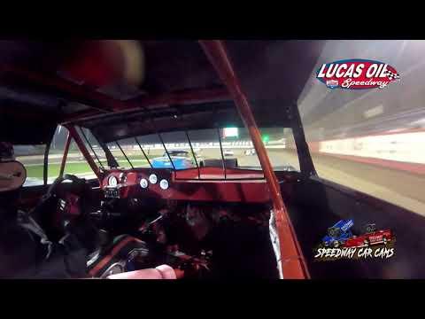 #87 Dylan Suhr - USRA Stock Car - 10-7-2021 Lucas Oil Speedway - In Car Camera - dirt track racing video image