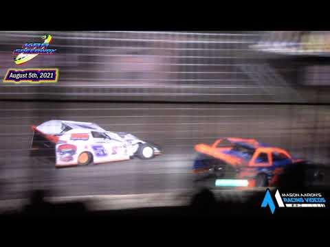 KRA Speedway WISSOTA Modified Races (8/5/21) - dirt track racing video image