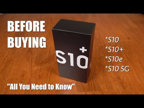 Galaxy S10: All You Need to Know Before Buying! (S10+, S10, S10e, S10 5G) - UCB2527zGV3A0Km_quJiUaeQ