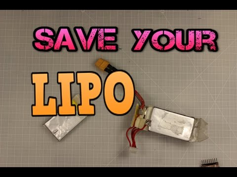 How to salvage/save your damaged LiPo Battery - UC3ioIOr3tH6Yz8qzr418R-g
