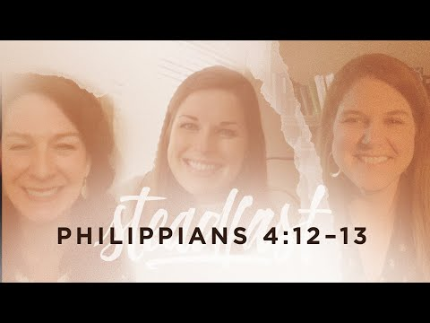 Kristen Wetherell  Philippians 4:1213