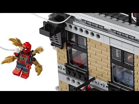 LEGO Avengers: Infinity War Sets Unboxing - Sanctum Sanctorum, Thanos Ultimate Battle - UCKy1dAqELo0zrOtPkf0eTMw