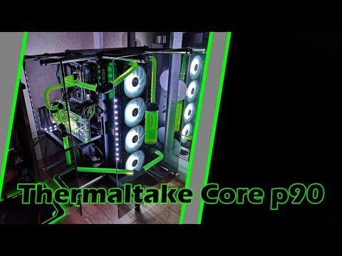 Thermaltake Core P90 Review/ Vorstellung/ Unboxing + Wakü Build - German/ Deutsch - default